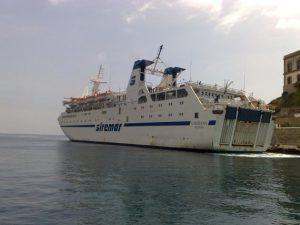 il traghetto Laurana