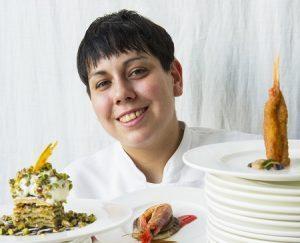 Martina Caruso, chef del Signum di Malfa