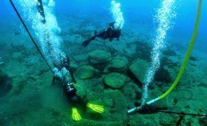Lipari: scoperto sott'acqua il porto romano dell'isola