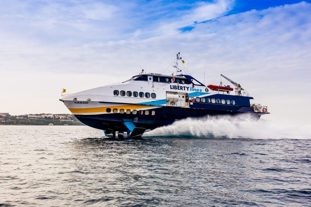 Come arrivare a Salina, traghetti e aliscafi da Napoli e ...