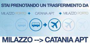 Transfer Catania Aereoporto / Milazzo e viceversa