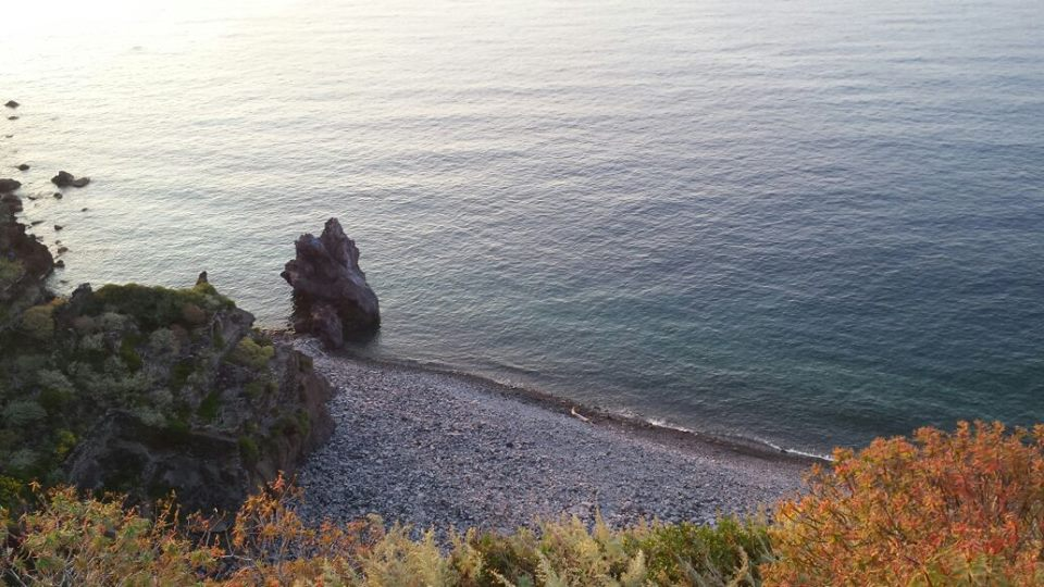 La spiaggia di Punta Scario