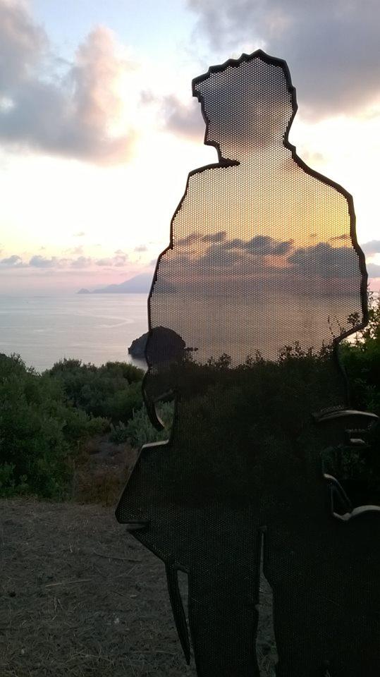 L'ombra del postino a Pollara