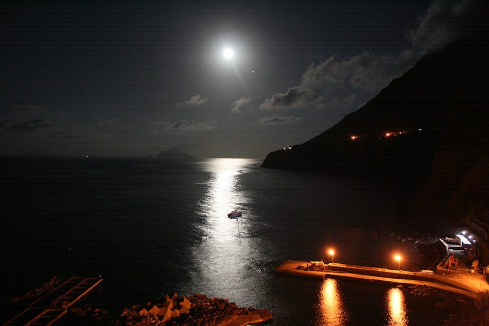 Scalo Galera di notte