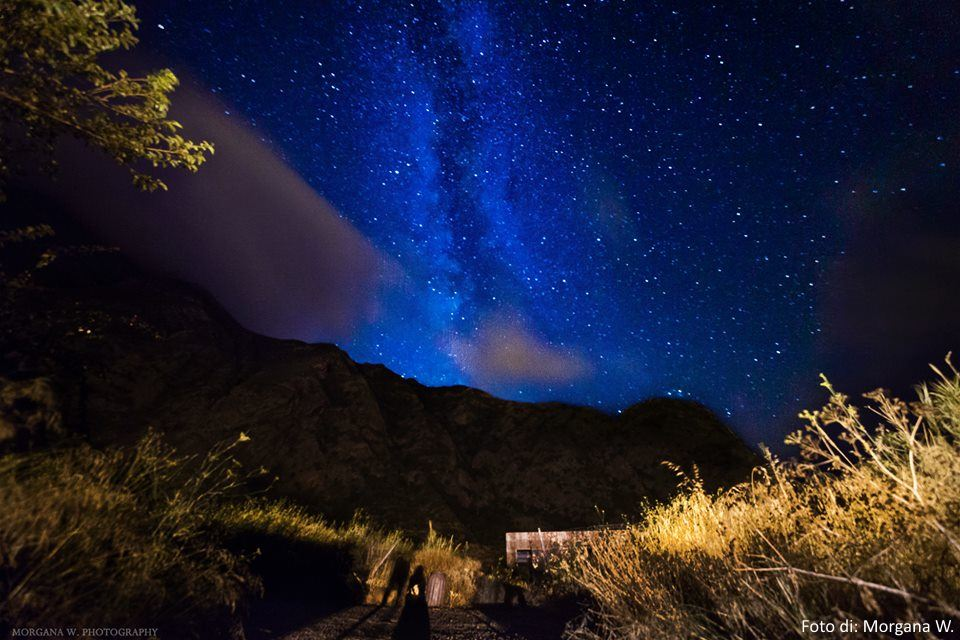 Cielo pieno di stelle a Pollara