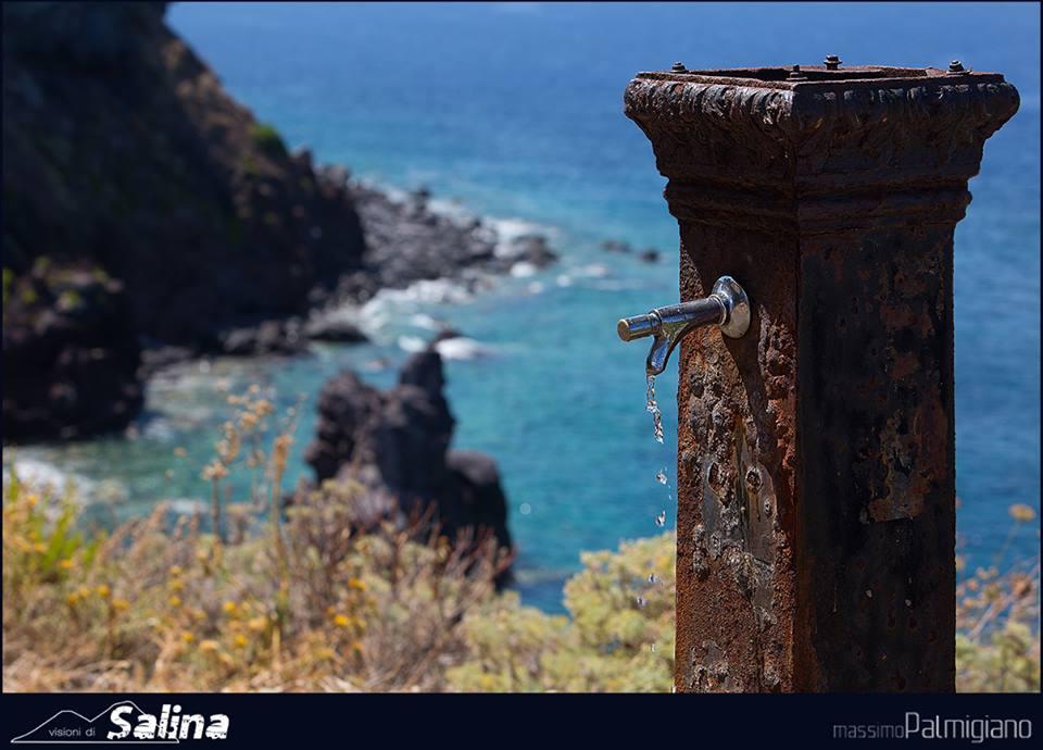 La fontanella a Punta Scario